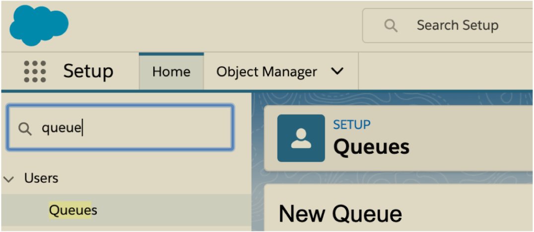 How to create a Queue in Salesforce